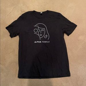 Sony Alpha Female T-shirt